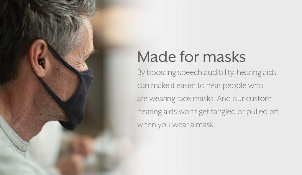 Made for masks: Boosting Speech for easier hearing